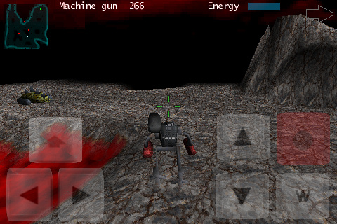 Screenshot Cybersaurus 3D