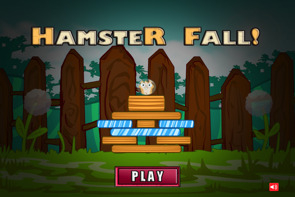 Screenshot Hamster Fall Lite
